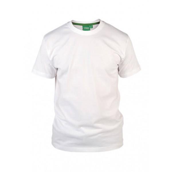 Μπλουζάκι Κοντομάνικο Μεγάλα Μεγέθη KS16581 FLYERS Λευκό