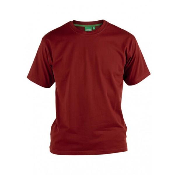 Μπλουζάκι Κοντομάνικο Μεγάλα Μεγέθη KS16581 FLYERS Κόκκινο
