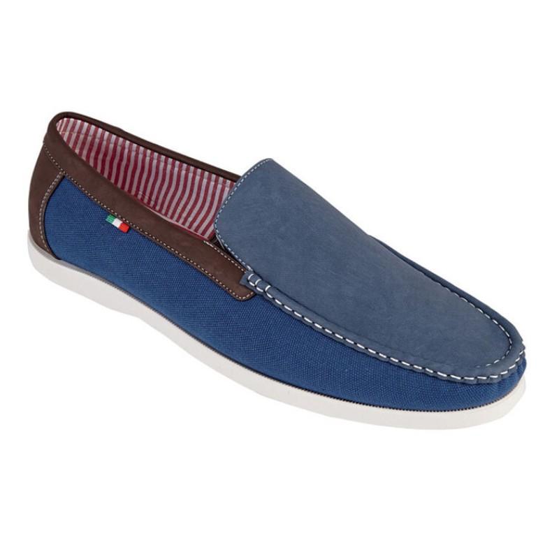 Παπούτσια Μεγάλα Μεγέθη KS2462 CLAUDE Μπλε Σκούρο - King Sizes aad397a0eff